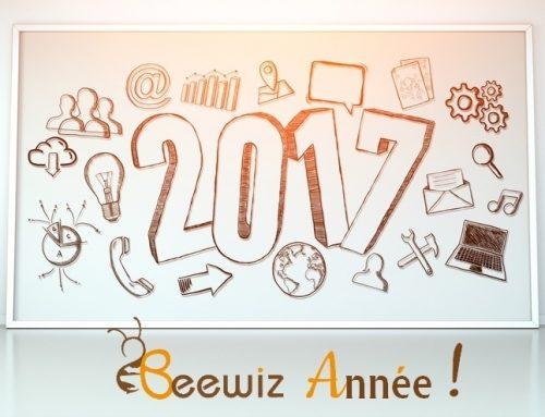2017 : En avant pour 12 mois de plaisir au travail !